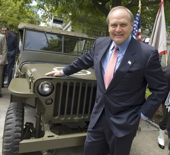 Bob Nardelli and the Jeep