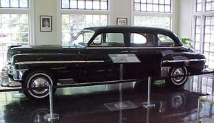 Limo in Museum