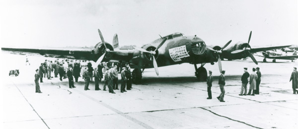 "B-17D ""The Swoose"