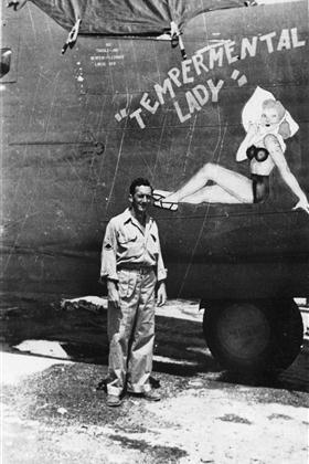 Tempermental Lady - B-24J - 22nd Bomb Group - 408th Bombardment Squadron -  Serial #42-100174 - PH00032022b (Richard LeDonne Collection)