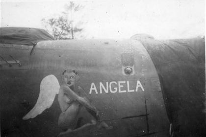 Angela : B-24 : Planes from Unknown Groups or Squadrons : Sharpe 1 (Thomas Sharpe Collection)