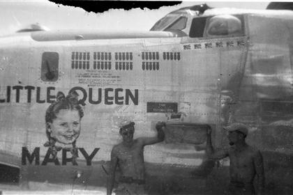 Little Queen Mary - B24 - 13th A.F. - 5th Bomb Group - 394th Bomb Squadron - Serial #44-40536 - Sharpe 23 (Thomas Sharpe Collection)