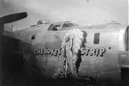 Cherokee Strip : B-24 : 6th Photographic Group - Reconnaissance : 20th Combat Mapping Squadron : Sharpe 9 (Thomas Sharpe Collection)