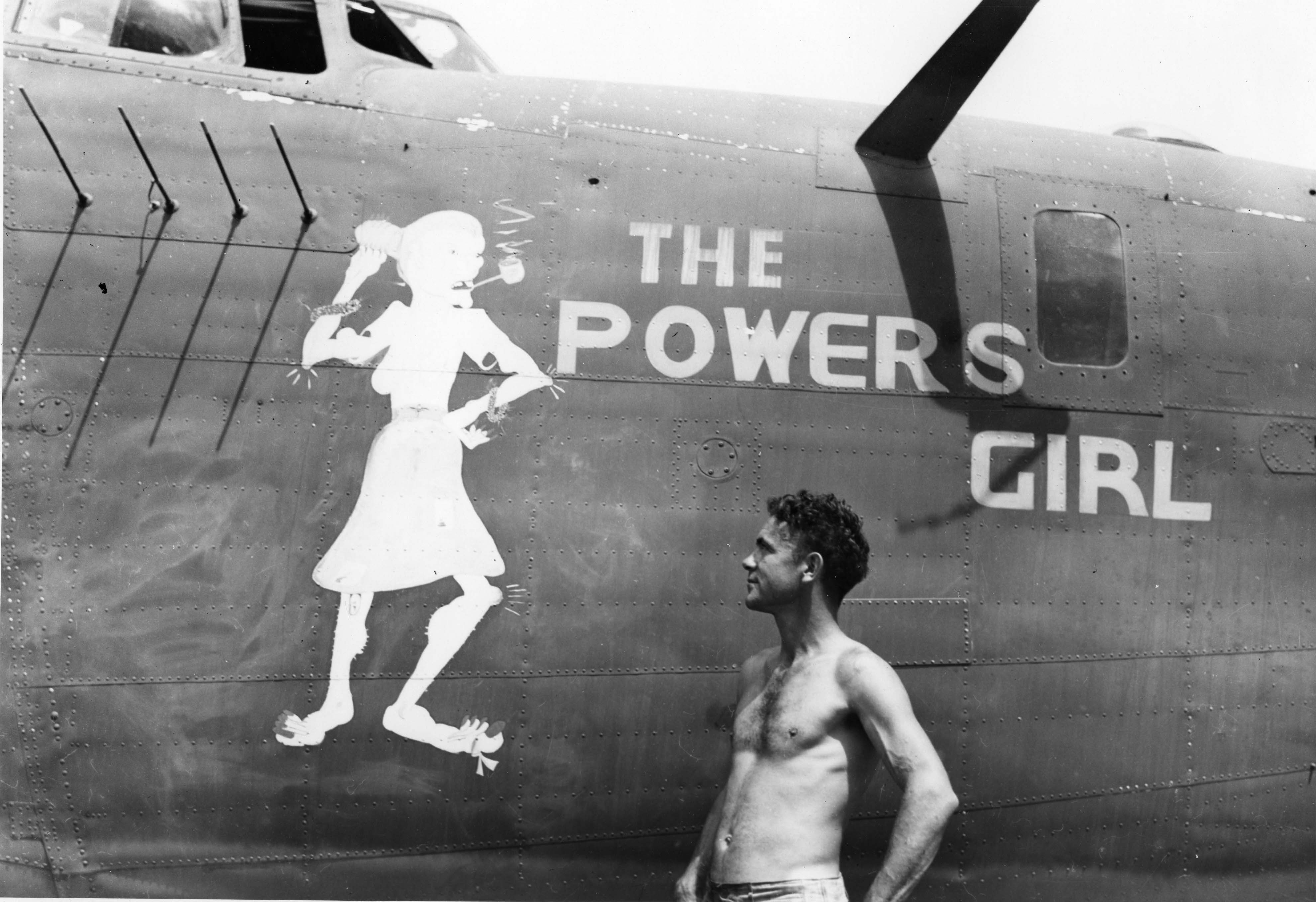 The Powers Girl - B24D - 90th Bomb Group - 400th Squadron - Serial #42-72807 -