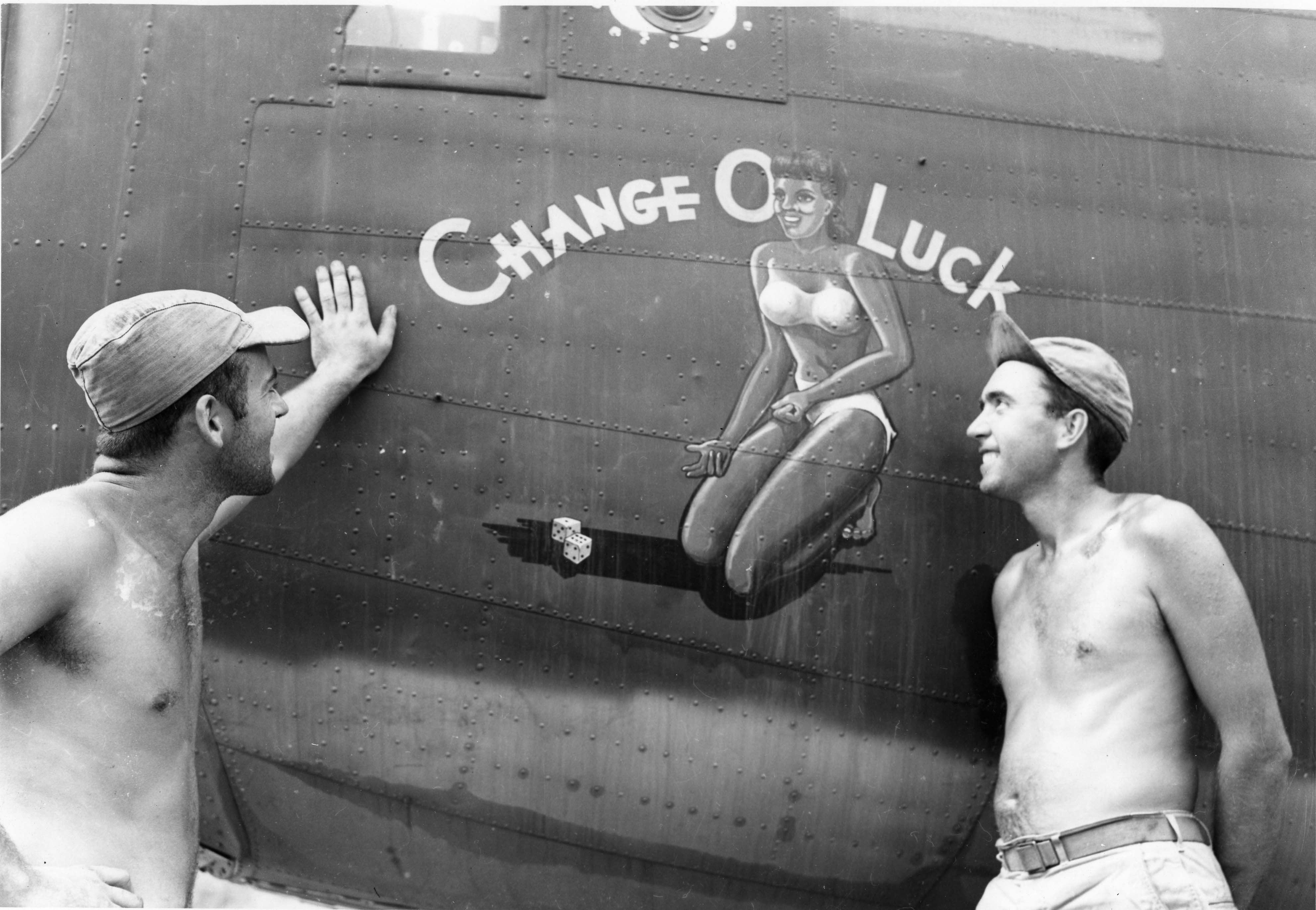 Change O Luck - B24D - 90th Bomb Group - 400th Squadron - Serial #41-11868 - PH00005468 (Frederick German Collection)