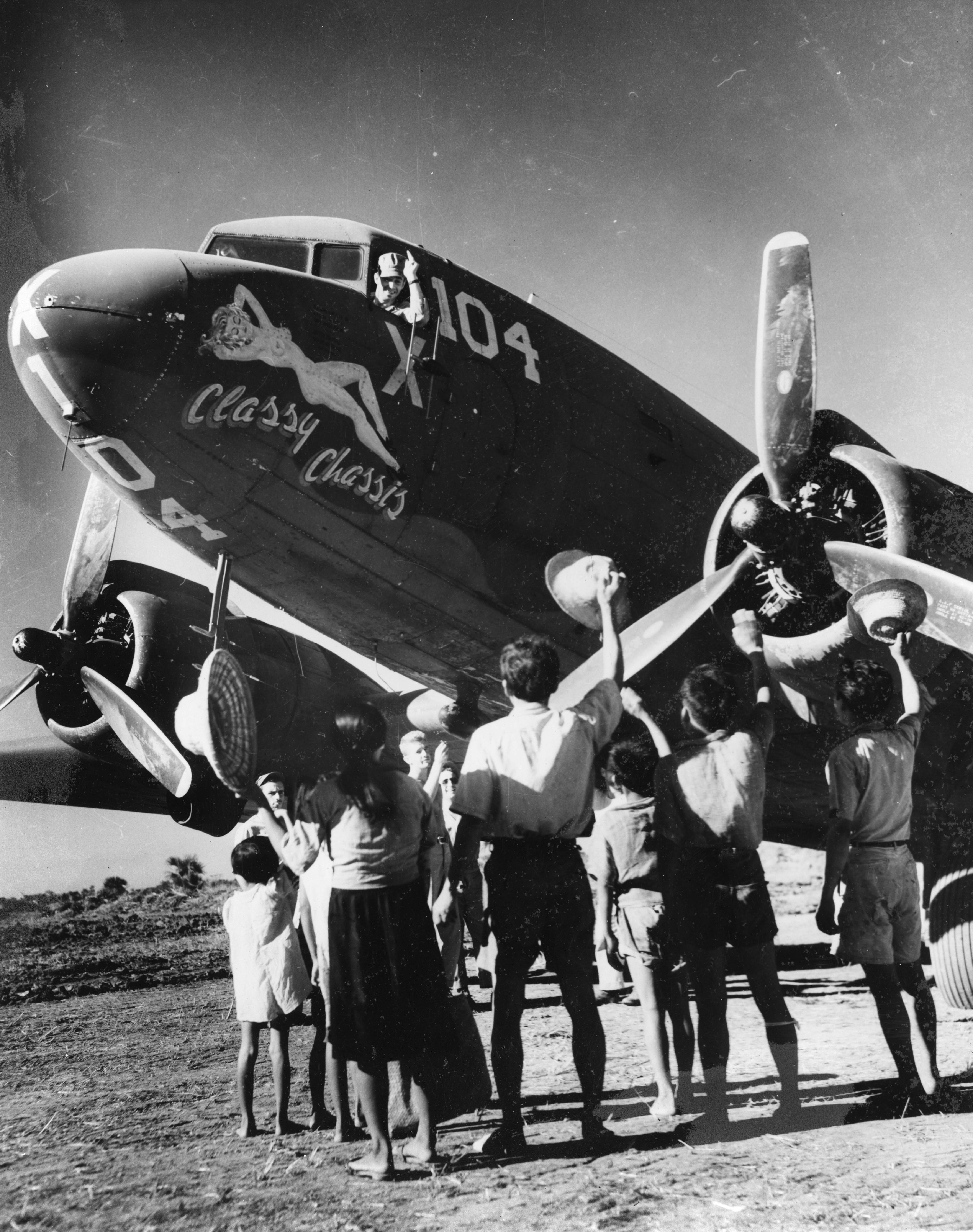 Classy Chassis : C-47 : 375th Troop Carrier Group : 55th Troop Carrier Squadron : PH00031315 (Frederick German Collection)