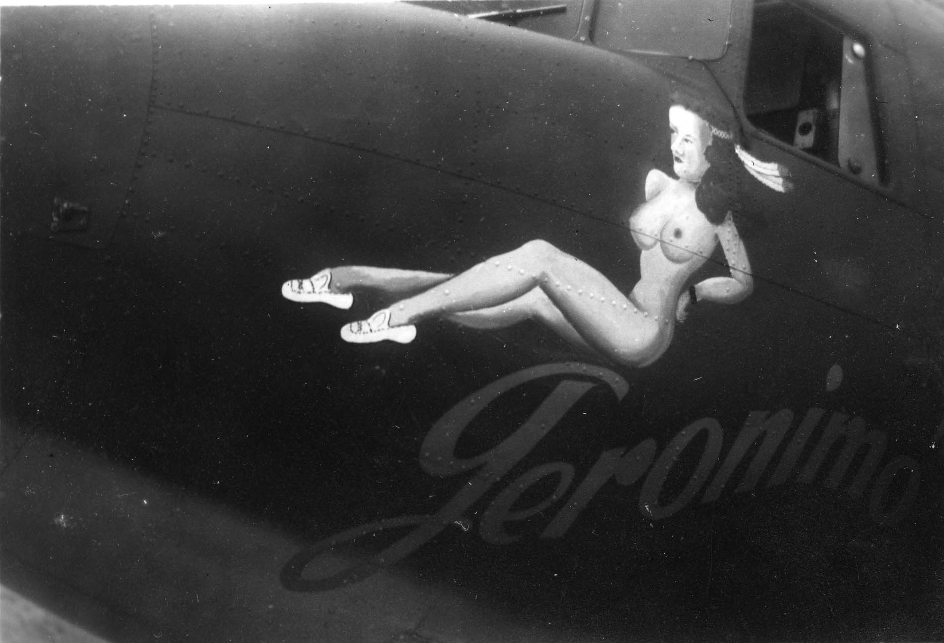 Geronimo : C-47 : Planes from Unknown Groups or Squadrons : Sharpe 18 (Thomas Sharpe Collection)