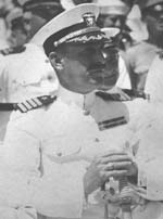 Captain Arthur MacArthur, USN, taken aboard the USS Henderson in 1922