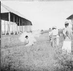 The James J. Halsema Collection - Photo of the execution of a Philippine insurrectionist - ca 1898.