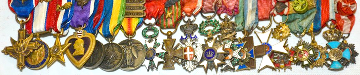 General MacArthur's Medals