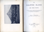 Dr. Dean C. Worcster's 1898 volume, The Philippine Islands and Their People