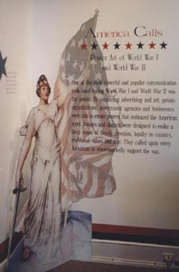 America Calls: Poster Art of World War I and World War II