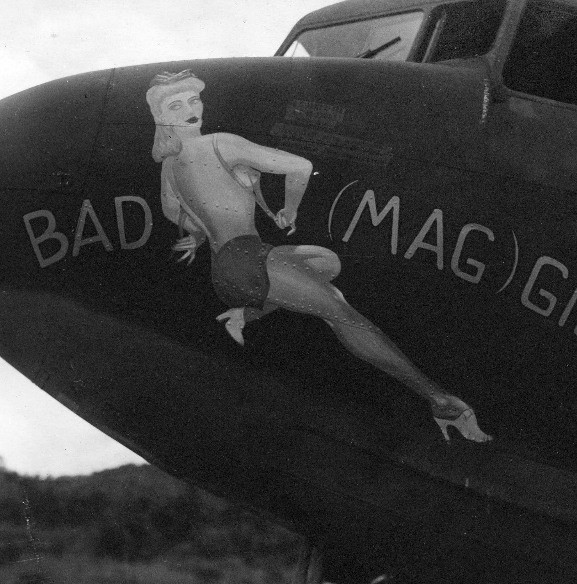Bad Maggie : C-47 : Planes from Unknown Groups or Squadrons : Sharpe 2 (Thomas Sharpe Collection)