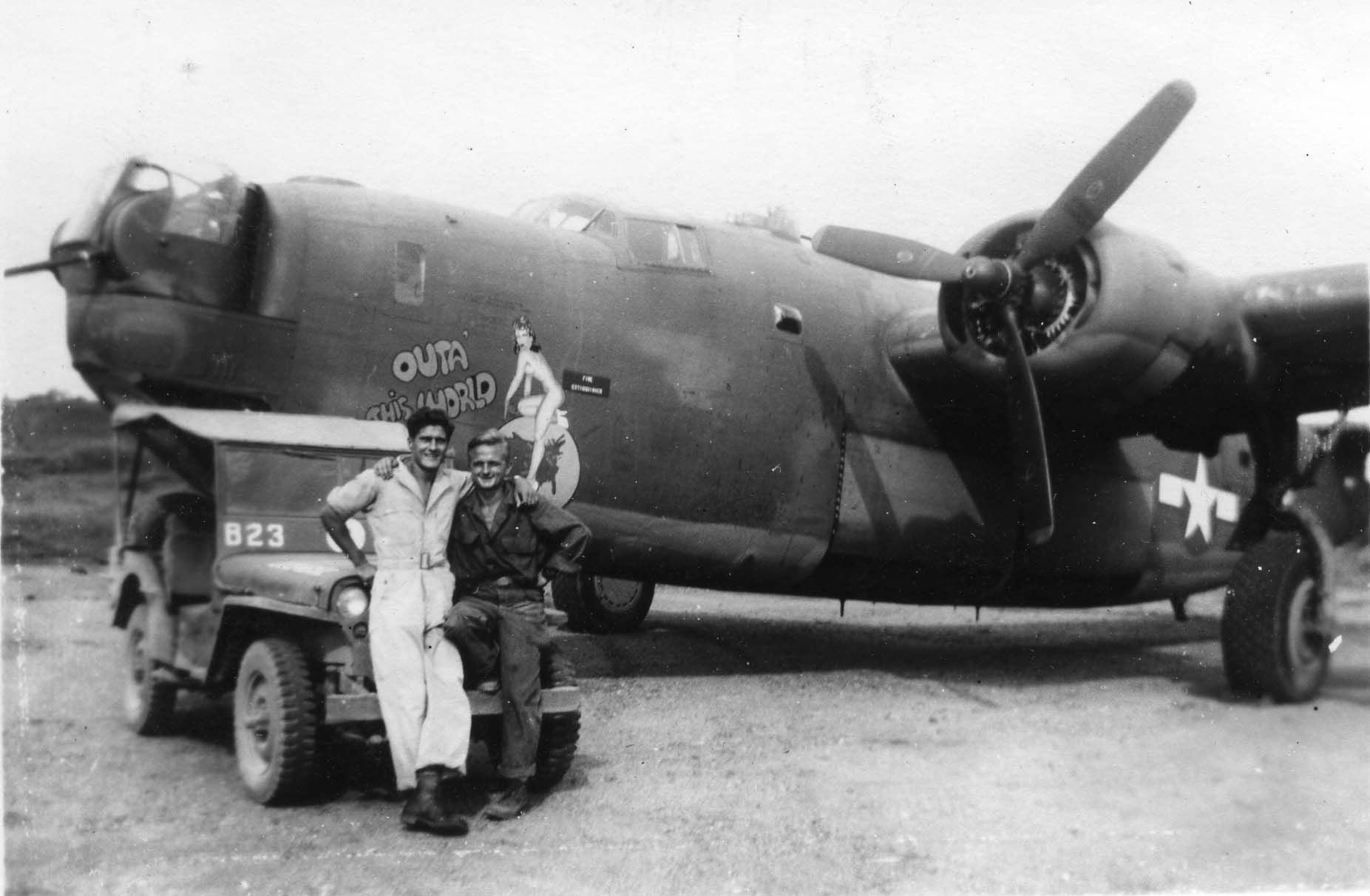 Outa This World - B25 - 22nd Bomb Group - Serial #42-110001 - Sharpe 25 (Thomas Sharpe Collection)